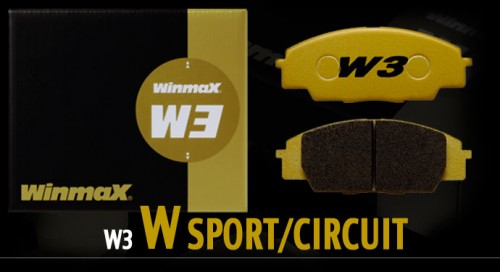 Winmax W3 Rear Brake Pads - Subaru BRZ Performance Package / WRX STi / Mitsubishi Evolution 8 / 9