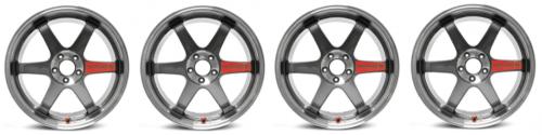 Volk Racing - TE37SL (Super Lap) - 17x9.0 +45 / 5x114.3 - Pressed Graphite - WRX / S2000 / MX-5 Fitment - SET OF 4