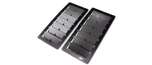 Trackspec - Large Rectangular Universal Hood Louvers