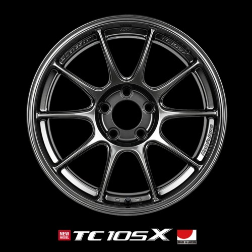 "WedsSport TC105X - 17"" Diameter - AMF Flow Formed Wheels"