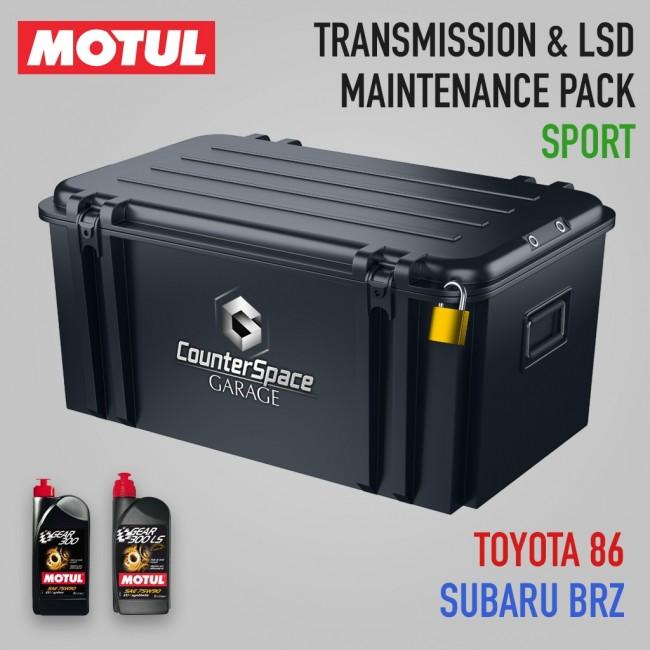 Motul Oil Package - Transmission / LSD - Subaru BRZ ...