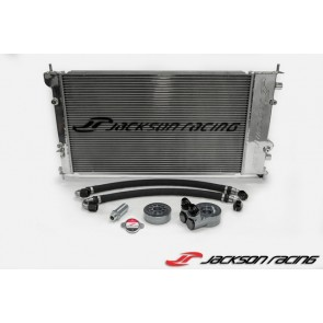 Jackson Racing - Dual Radiator / Oil Cooler - Subaru BRZ / Toyota 86 / Scion FR-S