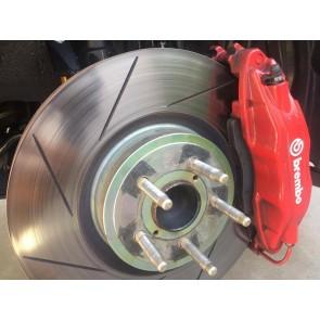 CSG Spec - Brembo GT Brake Kit - 4 Piston - 326x30mm Slotted - Subaru BRZ /  Toyota 86 / Scion FR-S