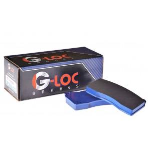 "G-LOC Brakes - G-Loc R12 - GP1001A - .630"" / 16mm Thickness - Brembo 4-Piston Caliper - Front Pads"