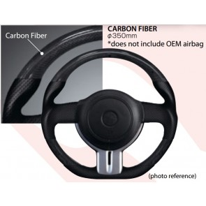 Cusco - Sport Steering Wheel - Carbon - 350mm - BRZ / FRS / GT86 - 965 763 AC