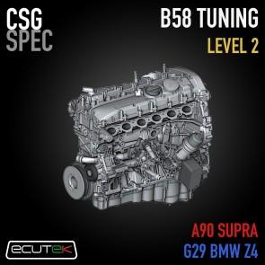 CSG Spec - Level 2 Tune - ECUTEK - A90 Toyota GR Supra / G29 BMW Z4