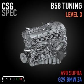 "CSG Spec - Level 3 Tune ""Turbo Upgrade"" -  ECUTEK - A90 Toyota GR Supra / G29 BMW Z4"
