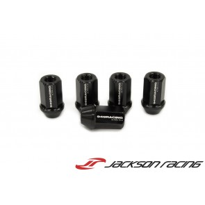949 Racing Forged Lug Nuts - M12x1.25 - Black - Set of 20