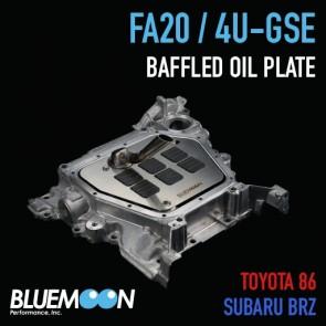 Bluemoon Performance - FA20 / 4U-GSE - Baffled Oil Plate - Toyota 86 / Subaru BRZ / Scion FR-S