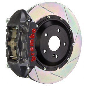 "Brembo - GT-S System - 345x28mm (13.6"") 2-Piece Disc - 4-Piston Cast Monobloc Caliper - Big Brake Kit - REAR - Subaru BRZ / Scion FR-S / Toyota GT86 - 2P-.8042AS"