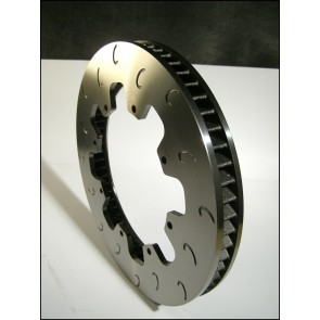 "AP Racing CP3862 11.75"" x1.25"" (299mm x 32mm) Heavy Duty, 60 Vane, J Hook Racing Brake Disc (Left)"