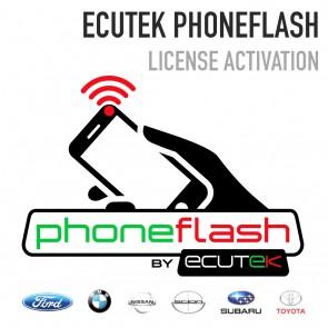 EcuTek PhoneFlash Activation