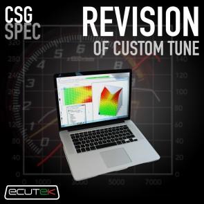 CSG Spec - Revision of Custom Tune