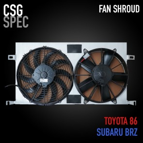 CSG Spec Fan Shroud Kit - Subaru BRZ / Toyota 86 / Scion FR-S