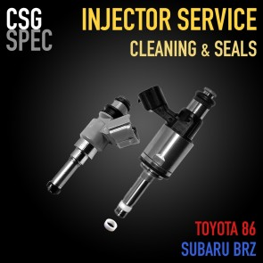 CSG Spec - Fuel Injector Cleaning Service - Toyota 86 / Subaru BRZ