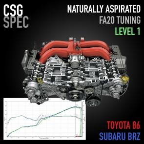 "CSG Spec - FA20 NA Level 1 ""OEM+"" Tuning - Subaru BRZ / Scion FR-S / Toyota 86"
