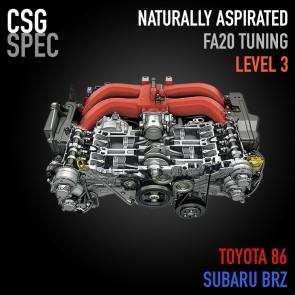CSG Spec - FA20 NA Level 3 Tuning - Subaru BRZ / Scion FR-S / Toyota 86