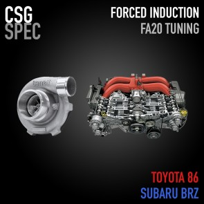 CSG Spec - Forced Induction Tuning (Turbo / Superchager) - Subaru BRZ / Scion FR-S / Toyota 86