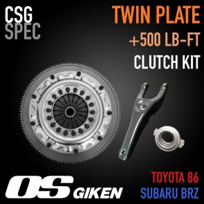 CSG Spec - Twin Plate Clutch System by OS Giken - Complete - Subaru BRZ / Scion FR-S / Toyota 86