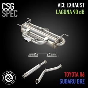 ACE Laguna 90 Exhaust - Subaru BRZ / Scion FR-S / Toyota 86