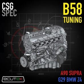 CSG Spec - Custom Tuning Service - ECUTEK - A90 A91 Toyota GR Supra / G29 BMW Z4