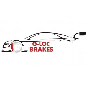 "G-LOC Brakes - G-Loc R18 - GP1001A - .630"" / 16mm Thickness - Brembo 4-Piston Caliper - Front Pads"