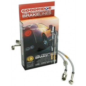 Goodridge - Stainless Steel Brake Line Kit (Front / Rear) - Nissan Skyline GT-R - BNR32 / BCNR33 / BNR34