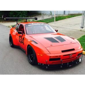 Trackspec - Hood Vents / Louvers - 1982-1991 Porsche 944