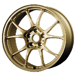 TWS Motorsport T66-F - 18x9.5J +45 / 5x100 - 56.1mm Bore - Flat Gold
