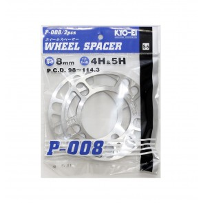 Project Kics - Universal Spacers - 8mm