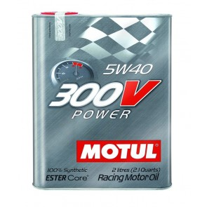 "Motul 300V ""POWER"" 5W40 - 2 Liter Tin"