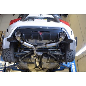 MXP - Comp RS - Catback Exhaust - Subaru BRZ / Scion FRS / Toyota GT86