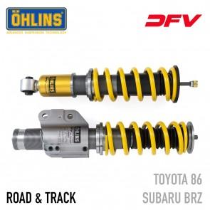Öhlins Road & Track DFV Coil-Over Suspension - Subaru BRZ / Scion FR-S / Toyota 86