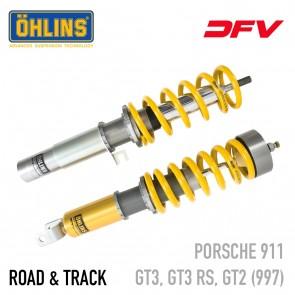 Öhlins Road & Track DFV Coil-Over Suspension - Porsche 911 (997) GT3 / GT3 RS / GT2