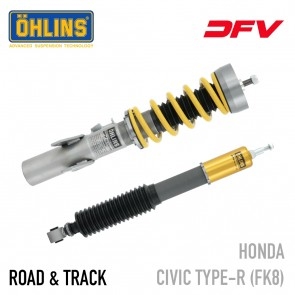 Öhlins Road & Track DFV Coil-Over Suspension - Honda Civic Type R (FK8)