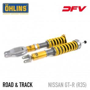 Öhlins Road & Track DFV Coil-Over Suspension - Nissan GT-R R35