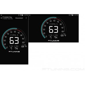 PTUNING - Flex Fuel Kit - Toyota 86 / Subaru BRZ / Scion FR-S - Bluetooth and Optional OLED Display