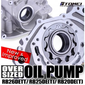 TOMEI USA - Oversized Oil Pump New Version - RB26DETT - Nissan Skyline GT-R