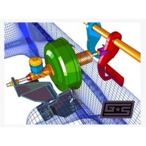 GrimmSpeed - Master Cylinder Brace - Subaru BRZ / Scion FR-S / Toyota 86
