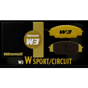 Winmax W3 Front Brake Pads - 2015+ Subaru WRX