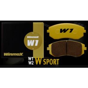 Winmax W1 Front Brake Pads - Subaru BRZ Brembo PP / Honda Civic Type-R FK8 / WRX STI / Mitsubishi Evolution