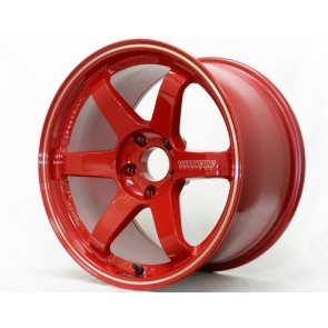 Volk Racing - TE37RT (Rigid Tune) - 17x9.5 / Offset +25 / 5x114.3 - Burning Red