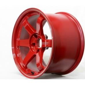 Volk Racing - TE37RT (Rigid Tune) - 18x10.0 / Offset +44 / 5x100 - Burning Red