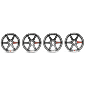 Volk Racing - TE37SL (Super Lap) - 17x9.0 +45 / 5x114.3 - Pressed Graphite - WRX / S2000 / MX-5 Fitment - SET OF 4