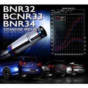 TOMEI - EXPREME Titanium Muffler - 440007 - Nissan Skyline GT-R - BNR32