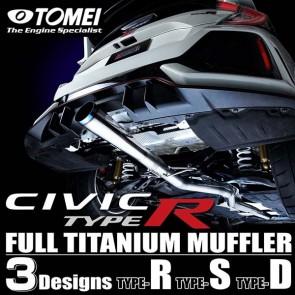 TOMEI EXPREME Ti - Full Titanium Muffler Catback - Honda Civic Type-R FK8