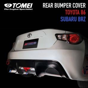 TOMEI - Rear Bumper Exhaust Cover - Scion FR-S / Subaru BRZ / Toyota 86