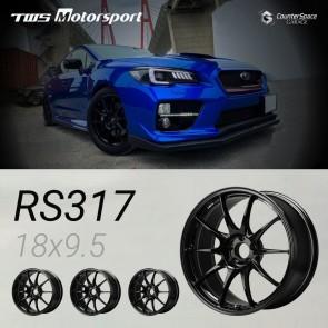 "TWS Motorsport RS317 - Forged Wheel Set - 18"" x 9.5"" ET45 - 5x114.3 - Honda S2000 / Subaru WRX STI"