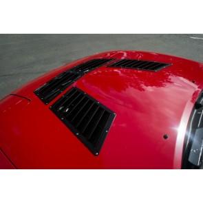 Trackspec - Hood Vents / Louvers - Mazda Miata MX-5 NA