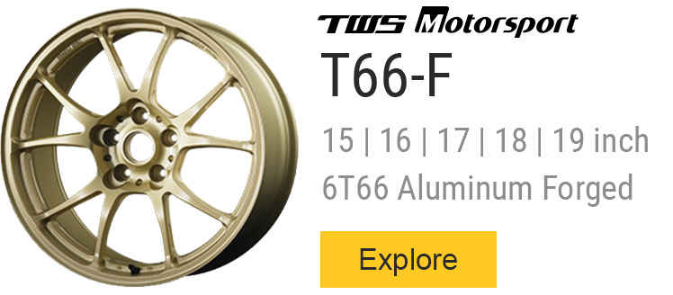All TWS T66-F Forged wheels for sale